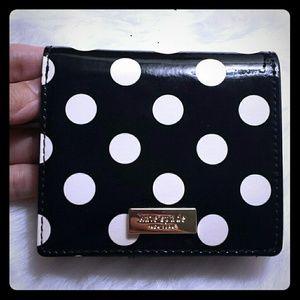 Kate Spade Polka Dot Bifold Wallet Like New